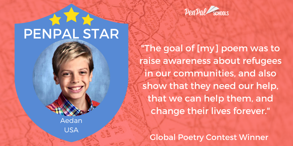 The 2020 Global Poetry Contest Winners Penpal Schools Poet's notes about the poem. penpal schools