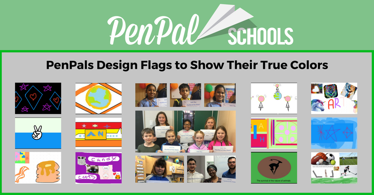 Students From Around the World Design Original Flags - PenPal Schools